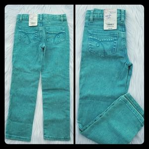 Total Girl Jeans NWT girls size 6x blue skinny